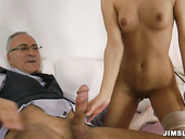 Sexy and hot babe Anita is riding hard prick