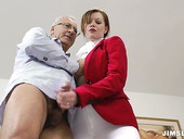 Horny blonde woman Holly Kiss gets boned doggystyle