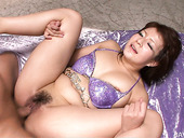 Hairy snapper of Asian hoe Kurara Iijima in missionary sex session