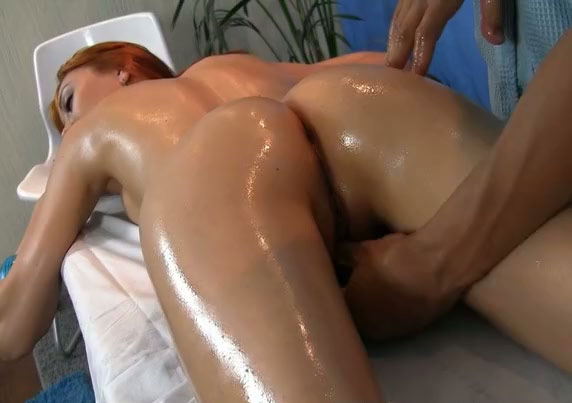 Oily women naked massage