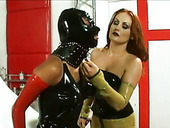 Hot chick gets punished by redheaded mistress Natasha Sweet