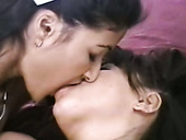 Two Indian girlfriends are licking each others slit in 69 style