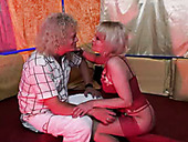 Horn-mad Rolf from Sweden comes to the brothel to be pleased by blond slut