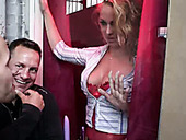 Horny dude Pavel from Finland interviews and seduces blond slut from Amsterdam