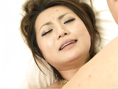 Luscious Japanese babe Yuu Shiraishi gets her vagina tongue fucked