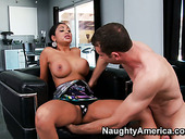 Hot indian slut Priya Anjali Rai gives a blowjob and titjob