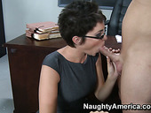 Strict teacher turns into dirty hag