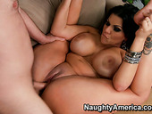 Busty babe Angelina Castro does her best in hot action