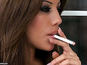 Compilation of hot and slim smoking sluts with nice tits and awesome butts
