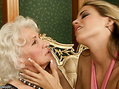 Old and young lesbians tongue fuck and fist their ruined cunts