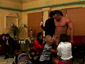Bachelorette party with cute gals turns into an insane orgy