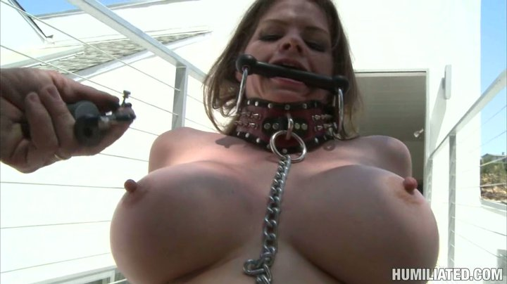 Bdsm tits pumping