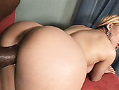 Puerto Rican trick Taylor Ray gets fucked hard in interracial fuck video