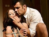 Torrid woman experiences extreme deepthroat fuck. BDSM