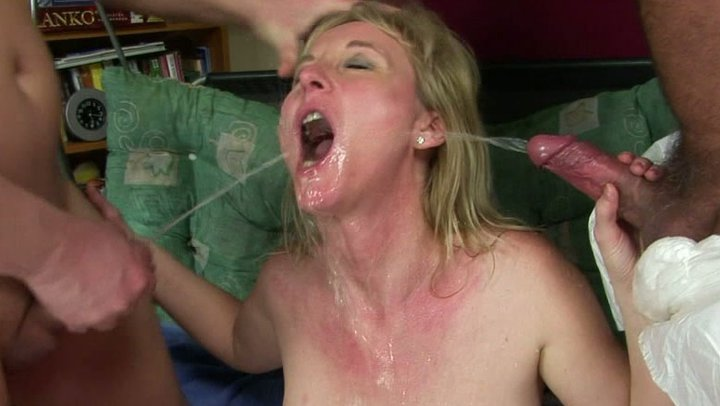 Mmf covered in cum, naked girls in the area