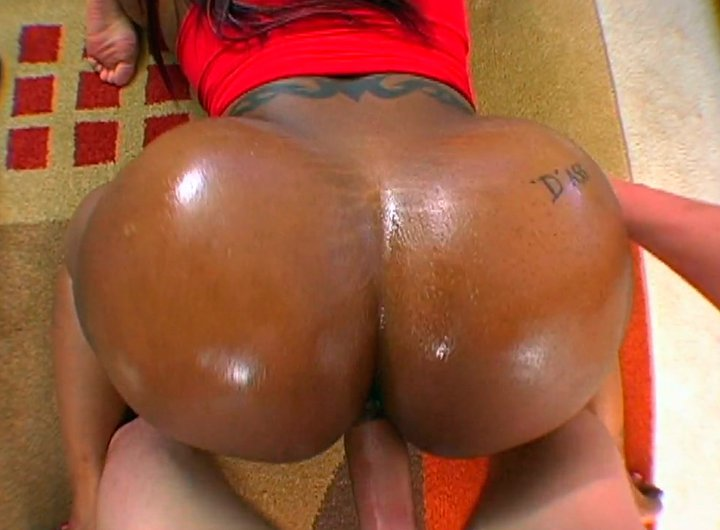 Oiled big booty black girls