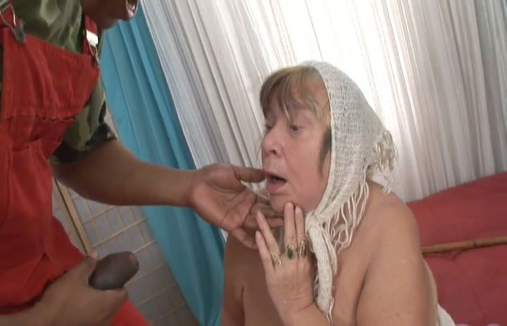 Old women sucking huge cocks