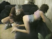 Old pervetred guy loved to fuck his neighbour's sexy babe