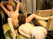Hot wench Joanna Storm gets her pussy licked by her lesbian GF