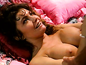 Dude jizzes on busty vintage slut after steamy sucking session