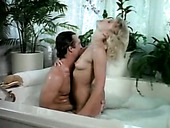 Sexy and filthy whore gets fucked hard in the bathroom