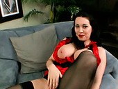Fucktastic chubby mistress RayVeness teases with her big boobs and booty