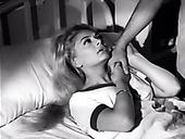 Delicious retro blonde making love with her boyfriend