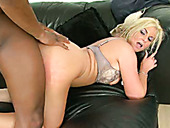 Hefty blonde slut Phoenix Marie hammered deep up her cunt in a doggy position