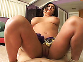 Busty Indian seductress rides her lover's dick in cowgirl position