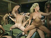 Unforgettable group sex with nasty Ashley Renee, Anita Dark and Christie Lake