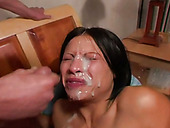 Super hot compilation of the sexiest facial fanatics