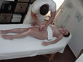 Hidden cam video from Czech massage salon