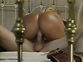 Wondrous bootylicious blond MILFie cowgirl rides dick and plugs toy in ass