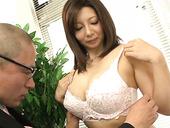 Big tittied hoe Sayuri Mikami is fucked by her kinky boss