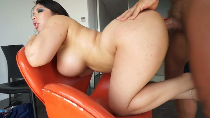 Big asian booty fuck