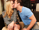 Sexy and hot blonde slut Natalia Starr gets her tasty pussy eaten