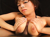 Sexy Asian milf having big jugs is fucked by her new passionate lover