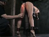 Well graced blond hoe enjoyed nasty BDSM fuck with her freak