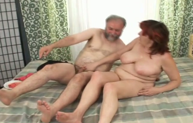 Old couple has sex