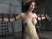 Stunning redhead MILF Veronica Avluv got mouth attacked rough