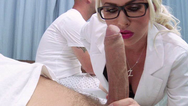 Love her busty mature nurse blowjobs star