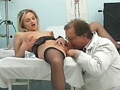 No idea what medical condition is but she wants her doctor to eat her pussy