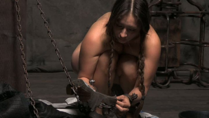 women naked chained