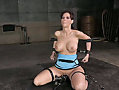 Torrid big tittied MILF is really into BDSM and she blows like a pro