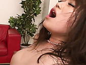 Sassy Japanese nympho is always excited about getting double penetrated