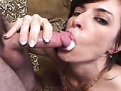 Appetizing milfs masturbate and give blowjob in compilation sex scene