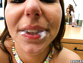 Noisy whore Lexxxi Lockhart screams loud when getting hammered hard on a casting