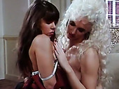 Wondrous vintage lesbos Alicyn Sterling and Courtney eat each other's cunts