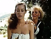 Classy nymphos Annette Haven, Lisa De Leeuw get banged by Paul Thomas