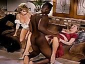 Barbarella and Moana Pozzi get their fucking skills tested by Sean Michaels